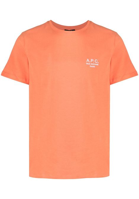A.P.C. t-shirt logo uomo A.P.C. | T-shirt | COEAV-H26840EAE