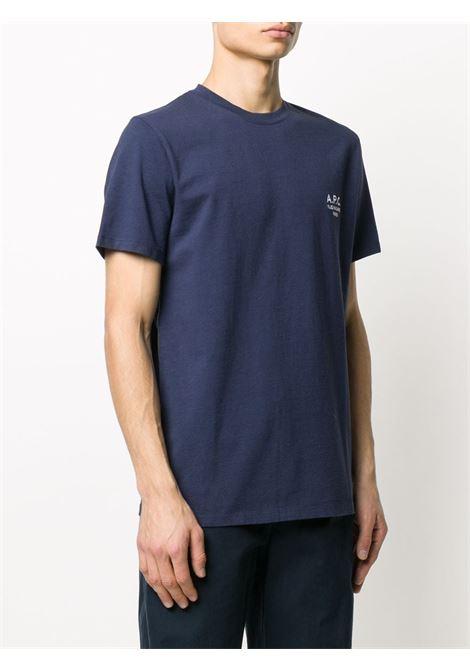 A.P.C. t-shirt con ricamo uomo A.P.C. | T-shirt | COEAV-H26840IAK