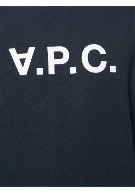 A.P.C. felpa con logo uomo A.P.C. | Felpe | COECQ-H27378IAK