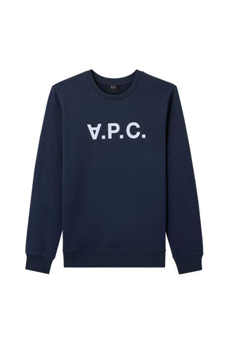 A.p.c. logo sweatshirt man A.P.C. | Sweatshirts | COECQ-H27378IAK