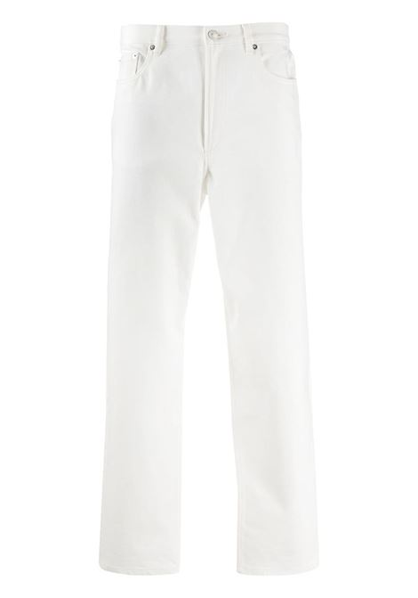A.P.C. slim trousers man white A.P.C. | Jeans | COEFG-H09121AAB