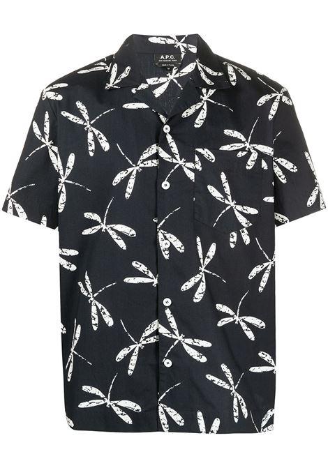 A.P.C. camicia stampata uomo A.P.C. | Camicie | COEMM-H12469IAK