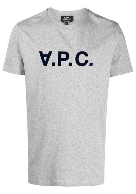 A.P.C. t-shirt con logo uomo A.P.C. | T-shirt | COEMV-H26943PLB