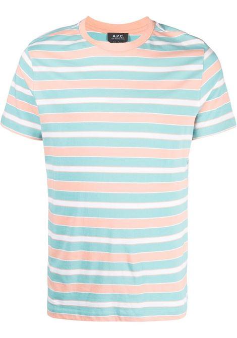 A.P.C. t-shirt a righe uomo A.P.C. | T-shirt | COENX-H26991IAD