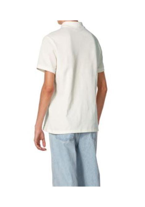 polo a righe uomo bianca in cotone A.P.C. | Polo | COEOB-H26992AAC