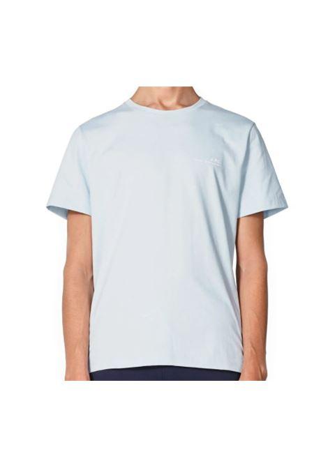 A.p.c. logo t-shirt man A.P.C. | T-shirts | COEOP-H26904IAB