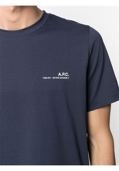 T-SHIRT CON LOGO A.P.C. | T-shirts | COEOP-H26904IAK