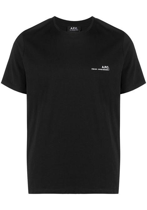 A.P.C. t-shirt logo uomo A.P.C. | T-shirt | COEOP-H26904LZZ