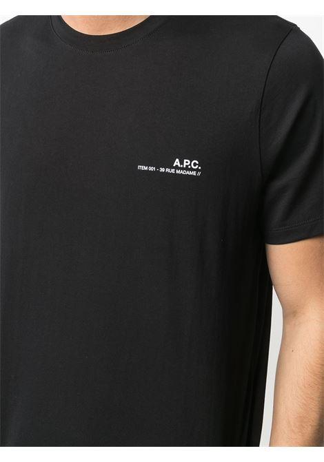 LOGO T-SHIRT A.P.C. | T-shirts | COEOP-H26904LZZ