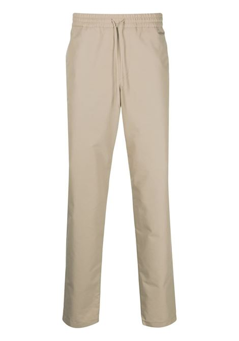 A.P.C. pantaloni a gamba dritta uomo beige A.P.C. | Pantaloni | COEQX-H08354BAA