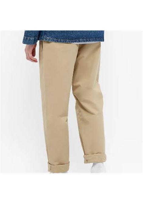 A.p.c. high rise straight leg trousers man A.P.C. | Trousers | COEQX-H08354BAA