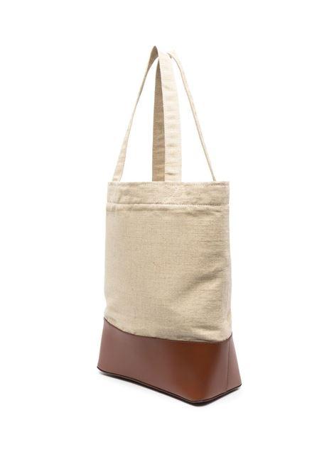 A.P.C. logo bag unisex beige A.P.C. | Bags | LIADU-M61444CAD