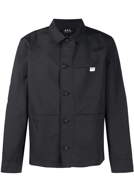 LOGO PATCH JACKET A.P.C. | Jackets | PAAEE-H02609LZZ
