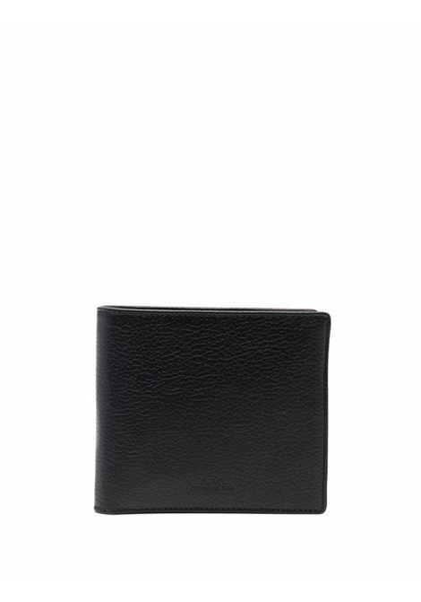 Leather billfold wallet man A.P.C. | Wallets | PXBLH-H63340LZZ