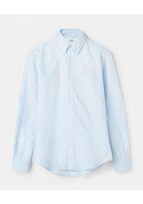 Magra linen shirt light blue man ASPESI | Shirts | CE14 C19585070