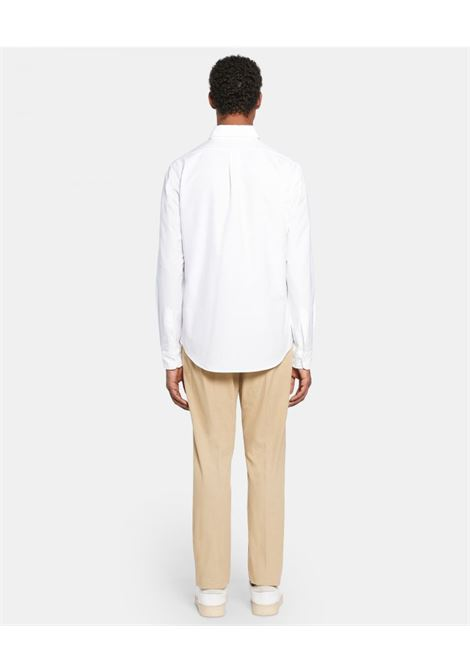Magra linen shirt whitre man ASPESI | Shirts | CE14 C19585072