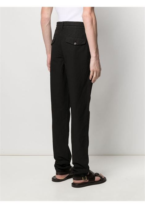Aspesi straight leg trousers man black ASPESI | Trousers | CP30 G43485241