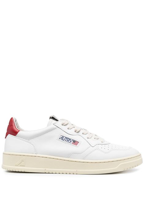Autry logo sneakers unisex white AUTRY | Sneakers | AULMLL21WHITE/RED