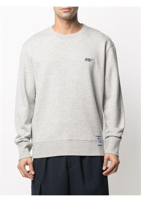 Autry logo sweatshirt man AUTRY | Sweatshirts | SWXMA11M