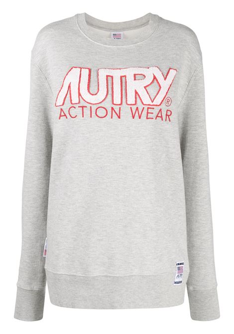 Logo appliqué sweatshirt AUTRY | Sweatshirts | SWXWA15W