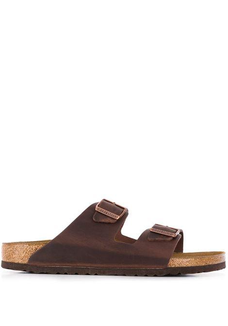 Birkenstock sandali arizona uomo marrone BIRKENSTOCK | Sandali | 052533HABANA