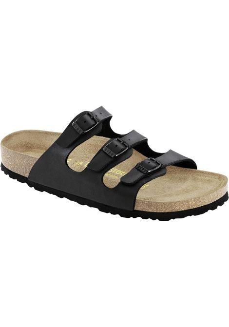 Florida man Black leather BIRKENSTOCK | Sandals | 053013BLACK