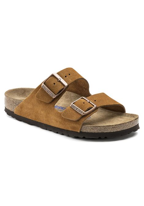 Birkenstock arizona sandals man brown BIRKENSTOCK | Sandals | 1009527MINK