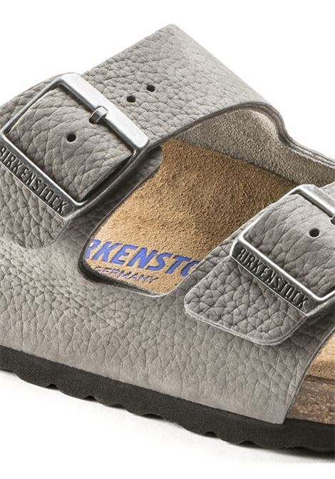 Arizona Sandals Grey Man Leather BIRKENSTOCK | Sandals | 1019031GREY