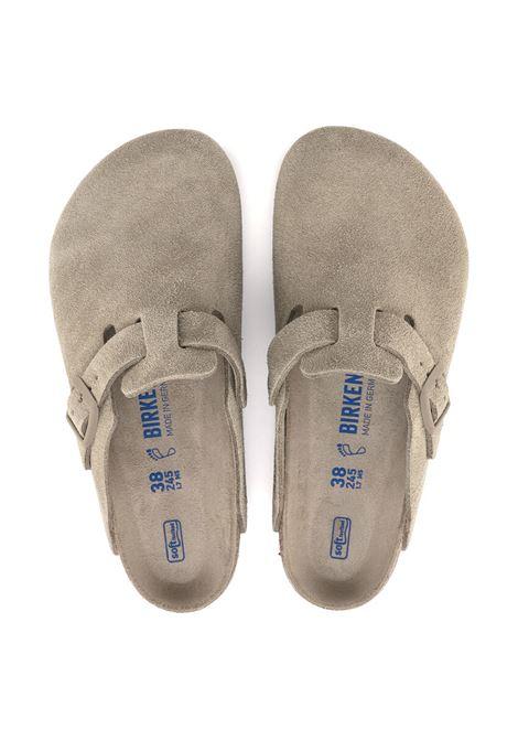 Birkenstock sandali boston uomo BIRKENSTOCK | Sandali | 1019108KHAKI