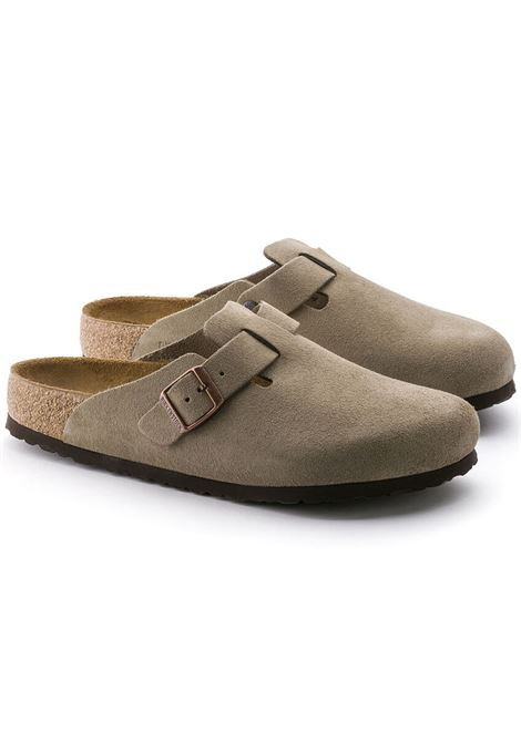 Birkenstock boston sandals man BIRKENSTOCK | Sandals | 560773TAUPE