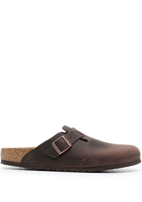Birkenstock boston sandals man brown BIRKENSTOCK | Sandals | 860133HABANA