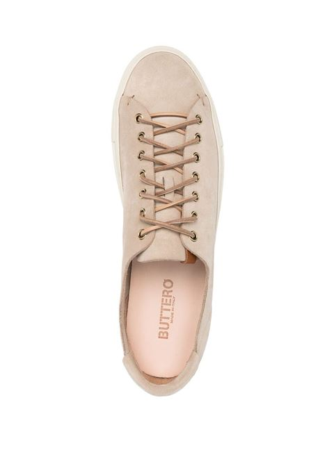 Buttero low top suede sneakers man beige BUTTERO | Sneakers | B4020GORH-UG183