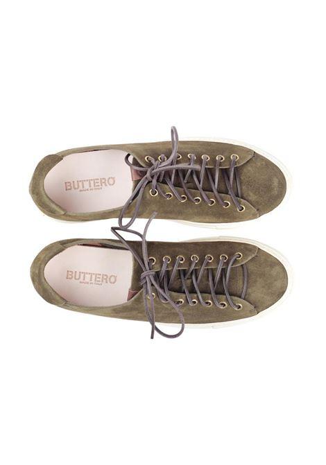 Sneakers basse in camoscio uomo BUTTERO | Sneakers | B4020GORH-UG29