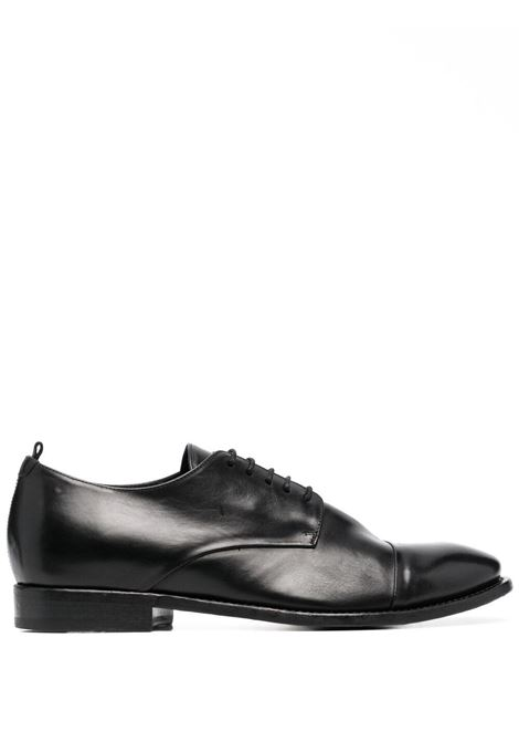 Buttero leather shiny lace up shoes man black BUTTERO | Laced Shoes | B7344DIV-UG01