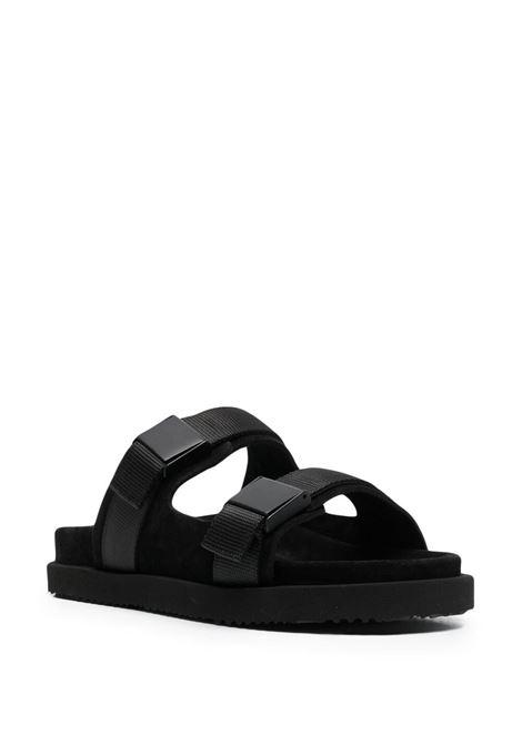 Buttero double strap sandals man black BUTTERO | Sandals | B9331VARC-UGBLACK