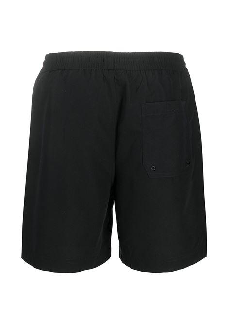 Carhartt Wip logo embroidered swim shorts man black CARHARTT WIP | Swimwear | I02623589.90