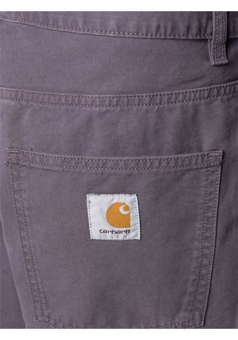 Carhartt Wip newel shorts man purple CARHARTT WIP | Shorts | I0279520AF.GD