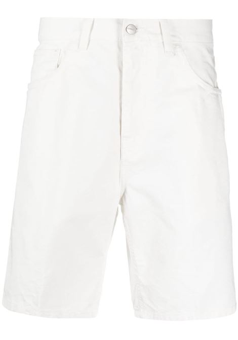 Carhartt Wip newel shorts man white CARHARTT WIP | Shorts | I027952350.GD
