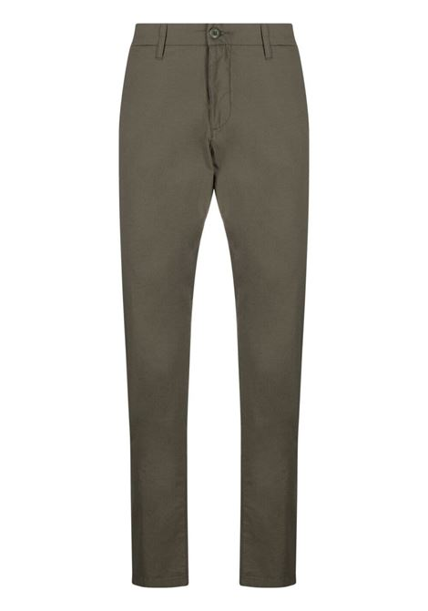 sid pants man olive green in cotton CARHARTT WIP | Trousers | I027955.32966.02