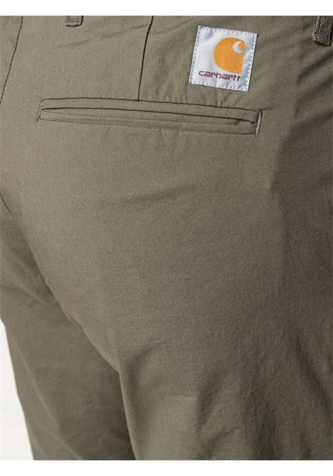 pantaloni sid uomo verdi oliva in cotone CARHARTT WIP | Pantaloni | I027955.32966.02