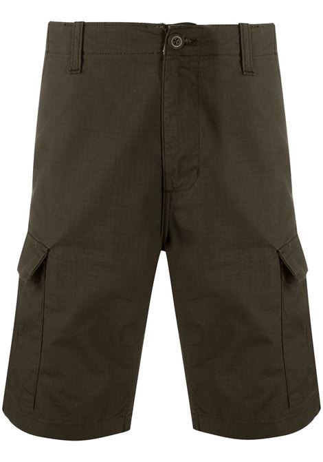 Carhartt Wip avation short man green CARHARTT WIP | Shorts | I02824563.02