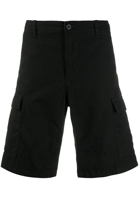 Carhartt Wip avation short man black CARHARTT WIP | Shorts | I02824589.02