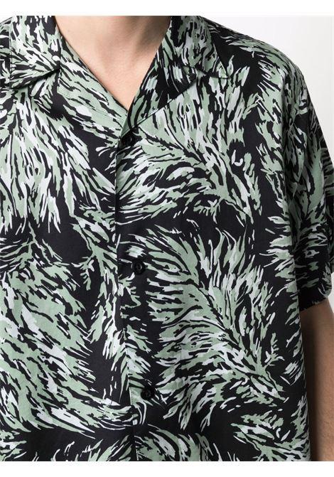camicia hinterland uomo nera in cotone CARHARTT WIP | Camicie | I0287960BK.00