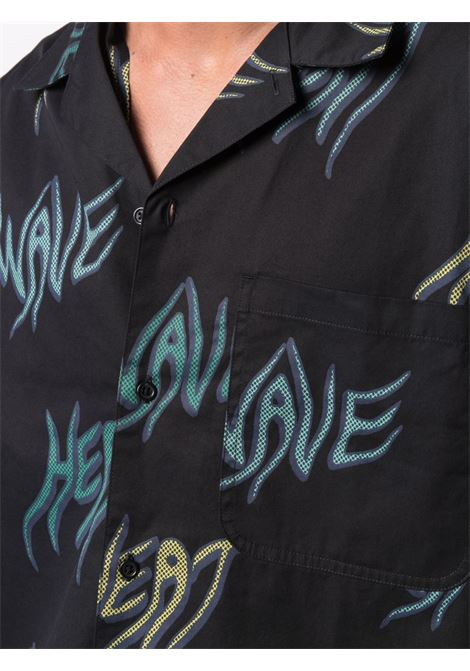 Carhartt Wip print t-shirt man black CARHARTT WIP | Shirts | I0287990BN.00