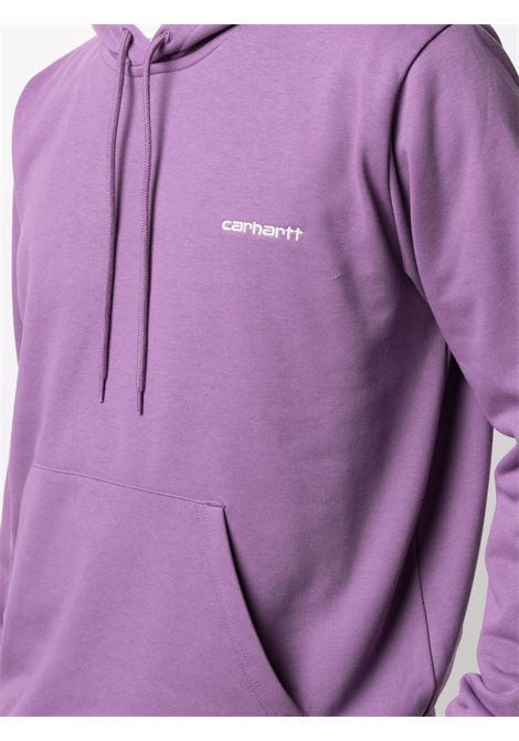 Carhartt Wip felpa script embroidery man purple CARHARTT WIP | Felpe | I0289370AJ.90