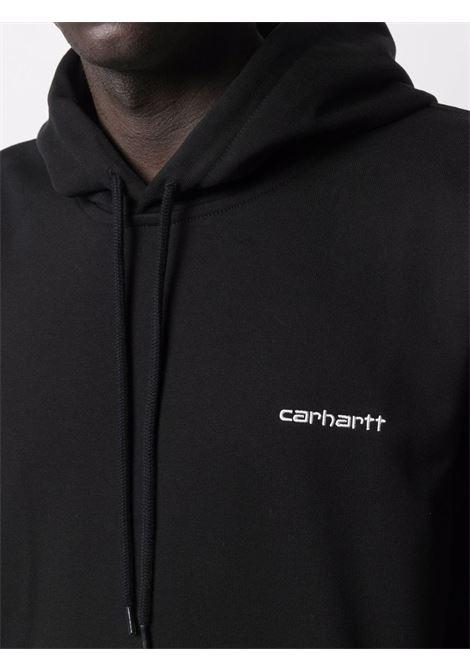 Carhartt felpa script embroidery uomo CARHARTT WIP | Felpe | I02893789.90