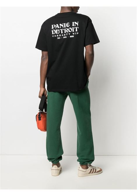 t-shirt panic uomo nera in cotone CARHARTT WIP | T-shirt | I02903589.90