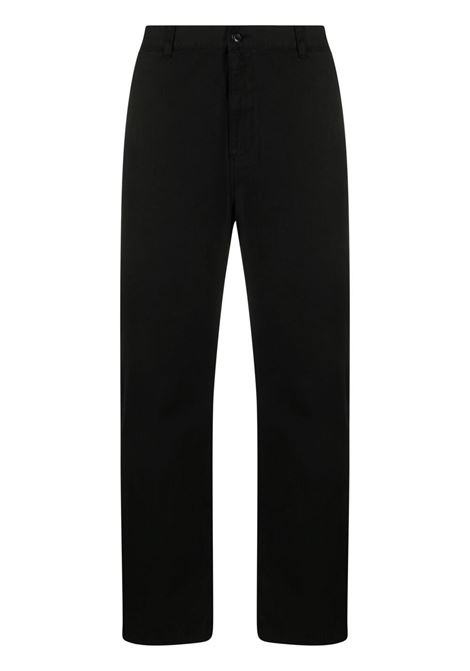 wesley pant man black in cotton CARHARTT WIP | Trousers | I029118.0089.GD
