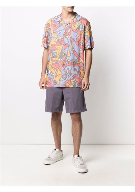 Carhartt Wip carson shorts man purple CARHARTT WIP | Shorts | I0293650AF.06