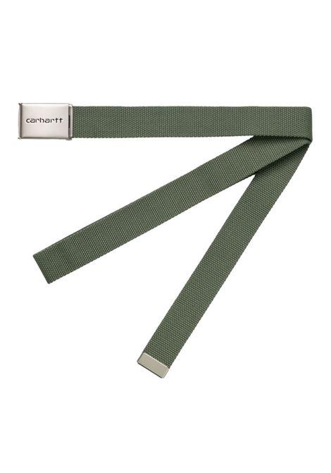 CLIP BELT CHROME CARHARTT WIP | Belts | I019176667.00